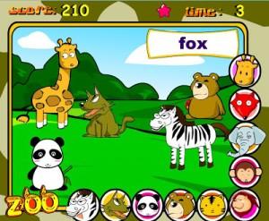 Zoo animals game