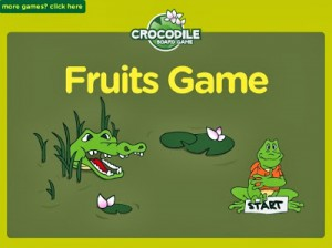 Fruits - Crocodile Game